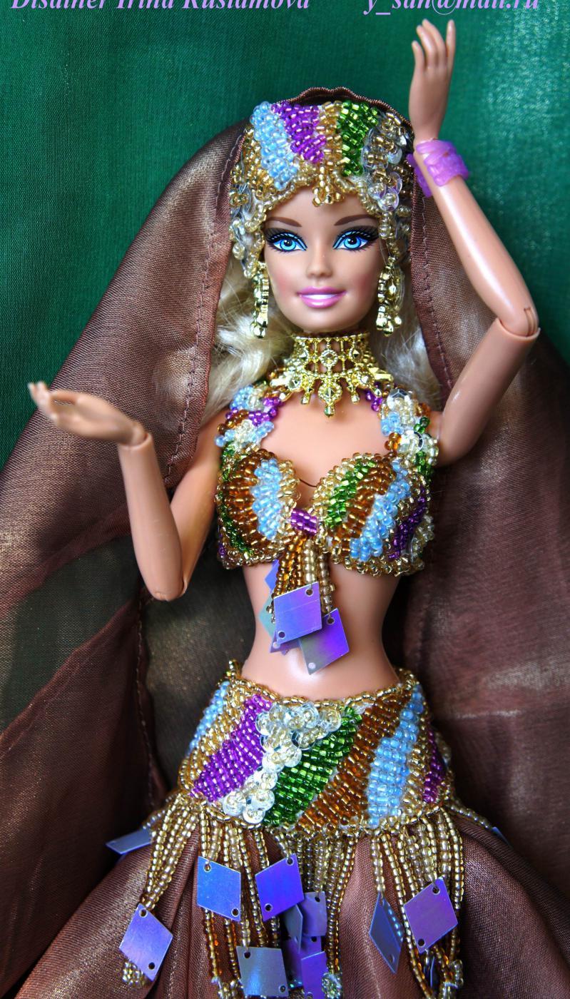 Кукла своими руками в восточном стиле