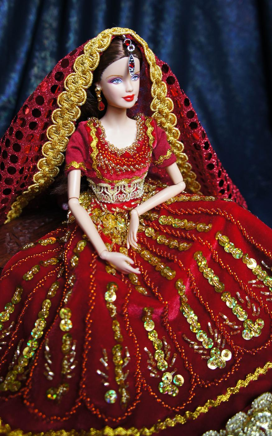 Как сшить куклу индианку