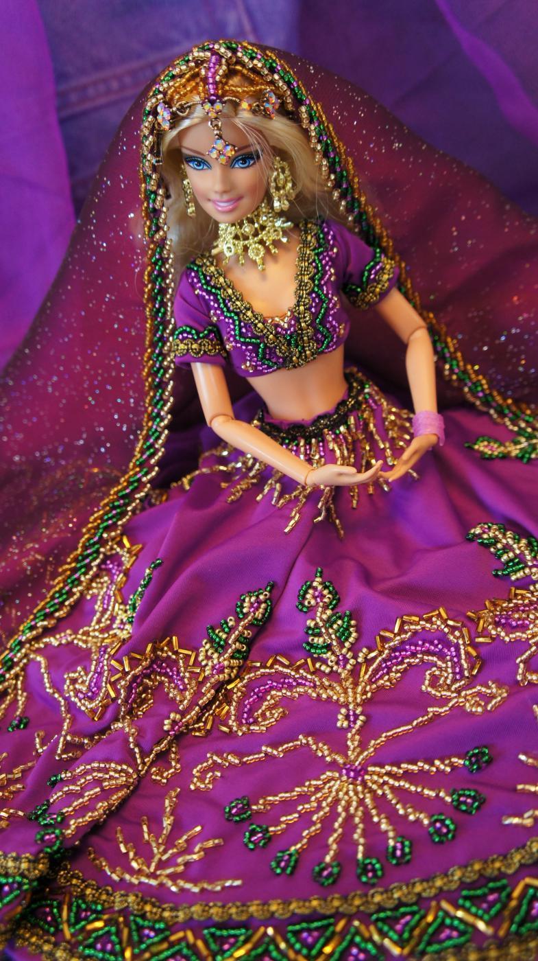 Кукла в восточном стиле